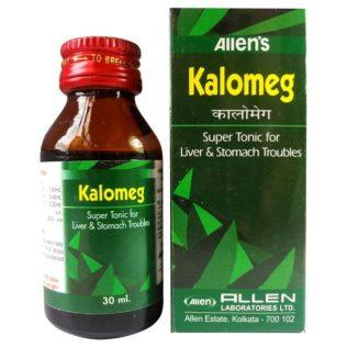 Allen Kalomeg Homeopathic Super Tonic for Liver, Stomach ailments