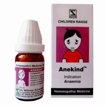 Schwabe Anekind globules for Anemia in children. Homeopathic medicine