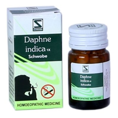 German anti smoking medicine, Schwabe Daphne Indica 1X for tobacco deaddiction