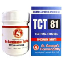 St George TCT 81 Homeopathic Tissue Complex Tablets for Teething Trouble