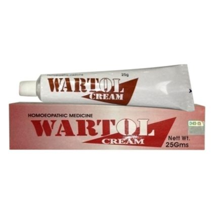 BBP Wartol cream-homeopathy medicine for warts with Thuja Occidentalis