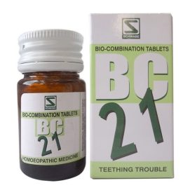 Schwabe Bioplasgen Biocombination 21 Tablets for Teething Trouble, medicine for dentition trouble