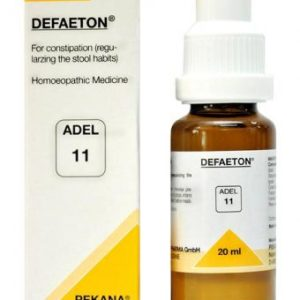 ADEL 11 Defaeton homeopathic drops for constipation, laxative, for proper excretion of stools