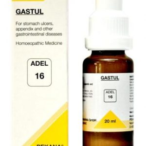 ADEL 16 Gastul homeopathic drops for stomach ulcers, appendix, gastro-intestinal diseases