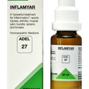 ADEL 27 INFLAMYAR homeopathic medicine for arthritis, inflammation, muscle pain, bruises