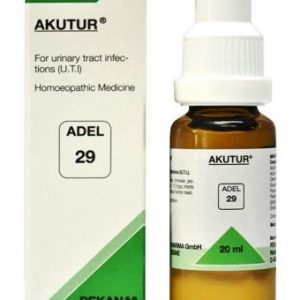 ADEL 29 AKUTUR homeopathic medicine for urinary tract infections(UTI)