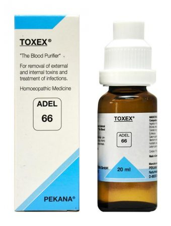 ADEL 66 Toxex drops - for Removal of External and Internal Toxins