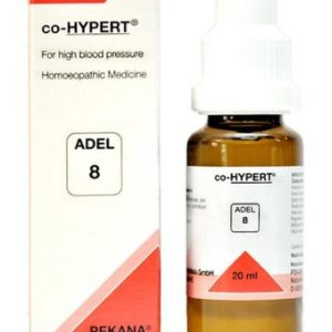 ADEL 8 co-Hypert homeopathic drops for high BP (blood pressure), Hypertension,homeopathy for blood pressure