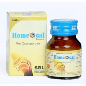 SBL Homeocal Tablets for Osteoporosis, medicine for weak bones