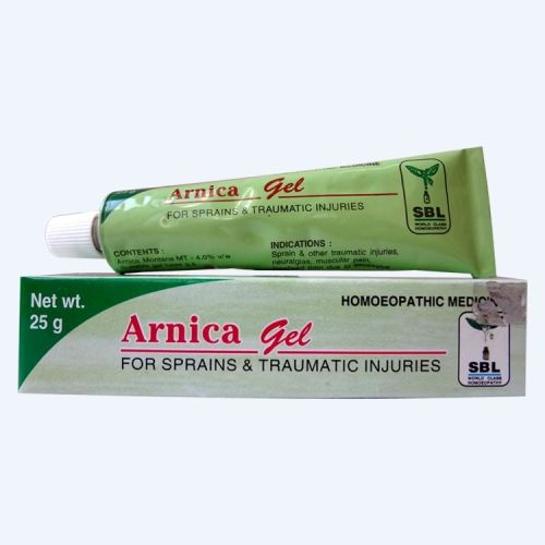 SBL Arnica Homeopathy Gel for Sprains, Traumatic injuries
