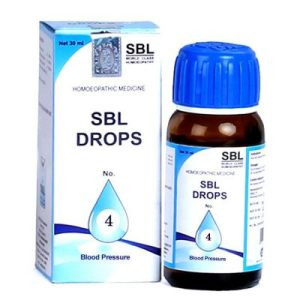 SBL Drops No 4, Best Homeo medicine for high Blood Pressure (BP), hypertension