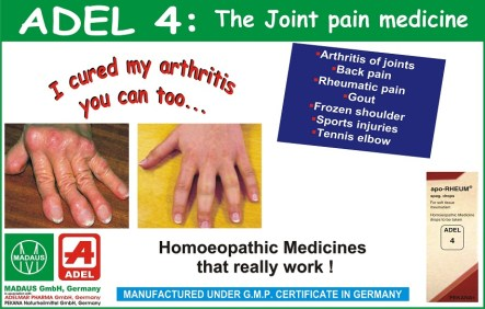 adel 4 homeopathic drops for rheumatoid-arthritis treatm
