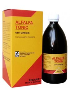 adel alfalfa tonic with ginseng, German Homeopathic Alfalfa Tonic, homeopathic tonic for weight gain, appetizer, helps build body, add weight not flab formula, increases body weight naturally