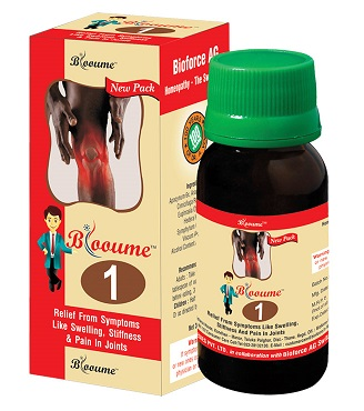 Blooume 1 for arthritis, swelling, stiffness, jointpain
