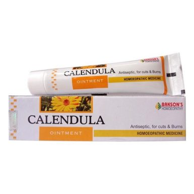 Bakson Calendula - natural antiseptic cream for cuts & burns