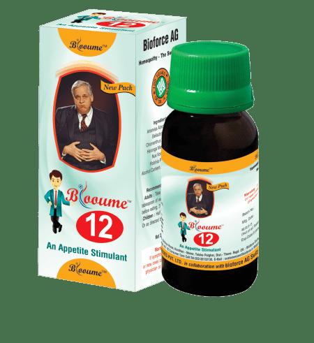Blooume -12 Digestisan, appetite stimulant homeopathy medicine