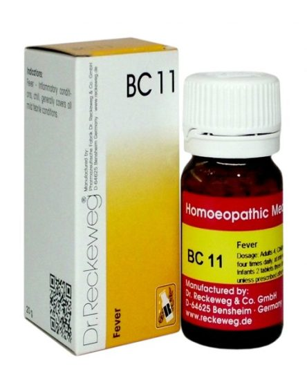 Dr Reckeweg Biocombination Tablets BC11 for Fever