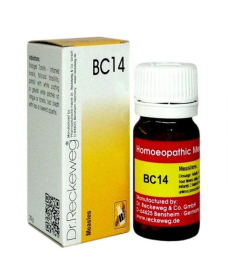 Dr.Reckeweg-Germany Biocombination Tablets BC 14 for Measles