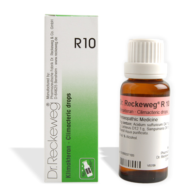 R10 Homeopathy medicine for Climacteric complaints, Leucorrhea, Metrorrhagia, Parametritis, Pruritus vulvae, Ovarian disorders