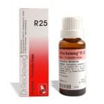 Dr.Reckeweg R25 drops for Prostatitis, Homeopathic prostate drops, Cystitis, Hypertrophy of prostate, Prostatitis, Acute rheumatoid arthritis