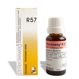 Dr.Reckeweg R57 Pulmonary tonic, Homeopathy lung medicine