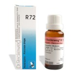Dr.Reckeweg R72 Homeopathy medicine for Pancreatitis treatment, abdominal pain, nausea, dehydration, skin discoloration, anemia, liver problems