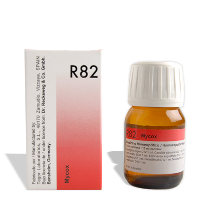 Dr.Reckeweg R82 Homeopathy Anti-Fungal drops for Ring Worms, Jock Itch, Athlete Foot , Ear infections