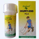 Healwell Hurt 200 Pills - Homeopathic Pain Reliever