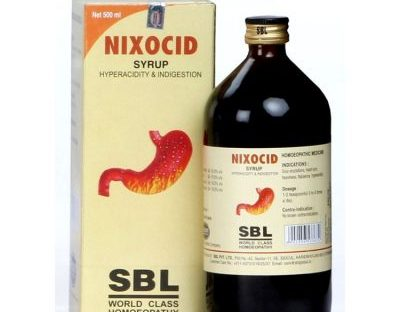 SBL Nixocid Syrup Homeopathy medicine for Hyper acidity, Indigestion