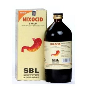 SBL Nixocid Syrup for Hyper acidity And Indigestion