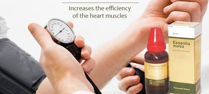 Schwabe essentia aurea for BP. Heart toner