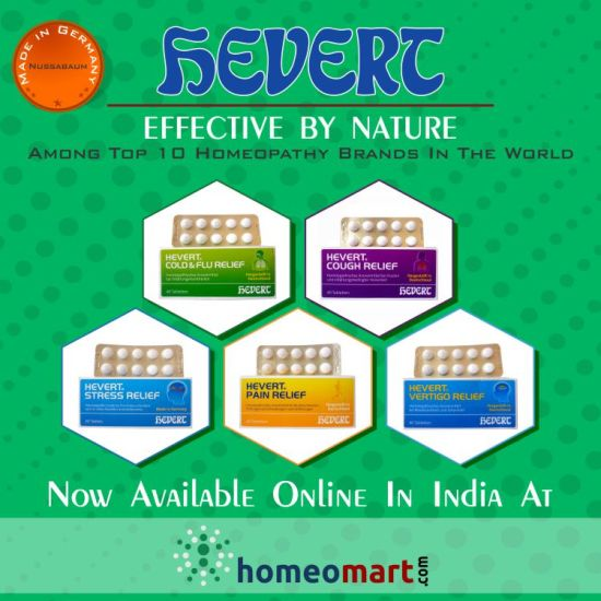 Hevert homeopathic products