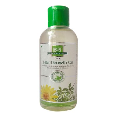 Schwabe B&T Hair growth oil - homeopathic hair loss remedy, with Arnica, Jaborand, Sabal Serrulata & Olive Oil