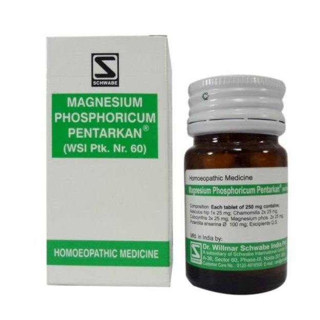 Schwabe Magnesium Phosphoricum Pentarkan Tablets for Irregular Periods