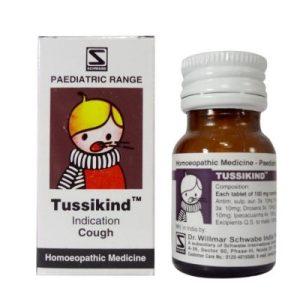 Schwabe Tussikind tablets, children cough medicine