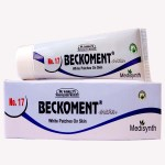 Medisynth Beckoment Cream No 17 for white patches on skin, Leucoderma