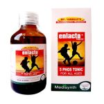 Medisynth Enlacto forte 5 Phos Syrup for all ages