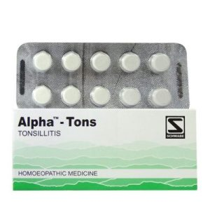 Schwabe Alpha-Tons Tablet for Tonsillitis, Throat Infections