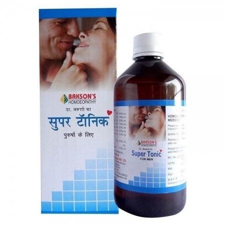 BAKSON Super Tonic for erectile dysfunction, impotency, sexual weakness. Homeopathic sexual wellness product