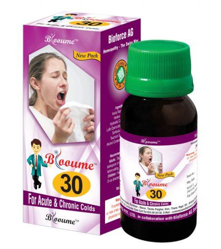 Blooume 30 RHINITISAN for chronic cold, sinusitis