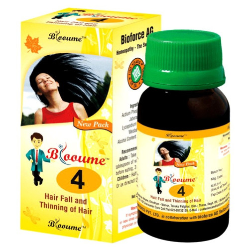 Blooume 4 (BioBuy Blooume 4 Biohair Drops for hair thinning, hair fall air Drops)