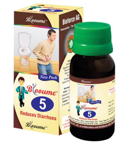 Buy Blooume 5 BIORRHOEA drops, homeopathic medicine for diarrhea
