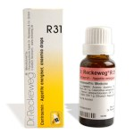 Dr.Reckeweg-Germany R31 - increases Appetite, improves Blood Supply, strengthens liver, Anaemia, Chronic apendicitis, Convalescence