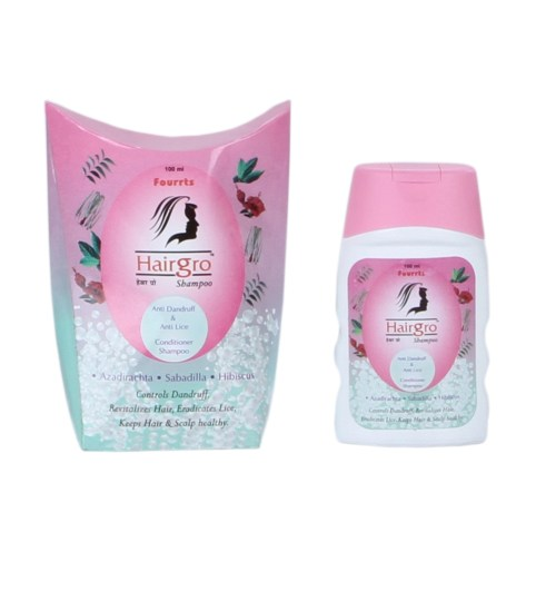 Fourrts Hairgro Shampoo Anti dandruff and anti lice conditioner shampoo