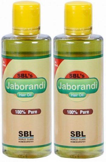 Top Jaborandi Hair Oil in India - SBL