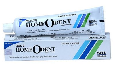 SBL Homeodent Homeopathic Tooth Paste (Saunf flavour) for Caries, Gingivitis, and other dental Problems