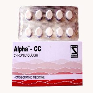 Schwabe Alpha CC Tablets for Chronic Cough