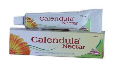 Wheezal Calendula Nectar Antiseptic Cream with with Berberis Aquifolium, Multipurpose use antiseptic cream