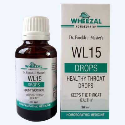 Wheezal WL 15 Healthy Throat Drops