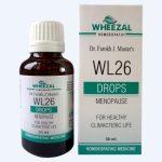 Wheezal WL-26 drops Homeopathic Menopause